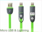 cable micro lightning to usb charge +datos 100900